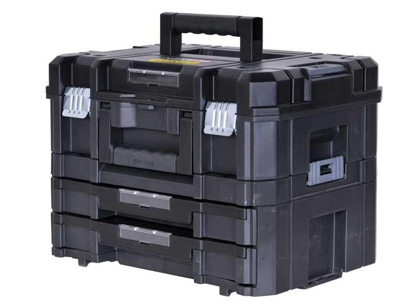 Cassetta porta utensili elettrici cassettiera tstak - Cassetta porta attrezzi stanley con ruote ...