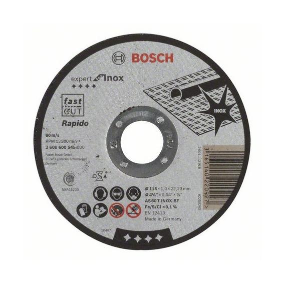 Disco Da Taglio Inox Per Smerigliatrice 115 X 1 Mm