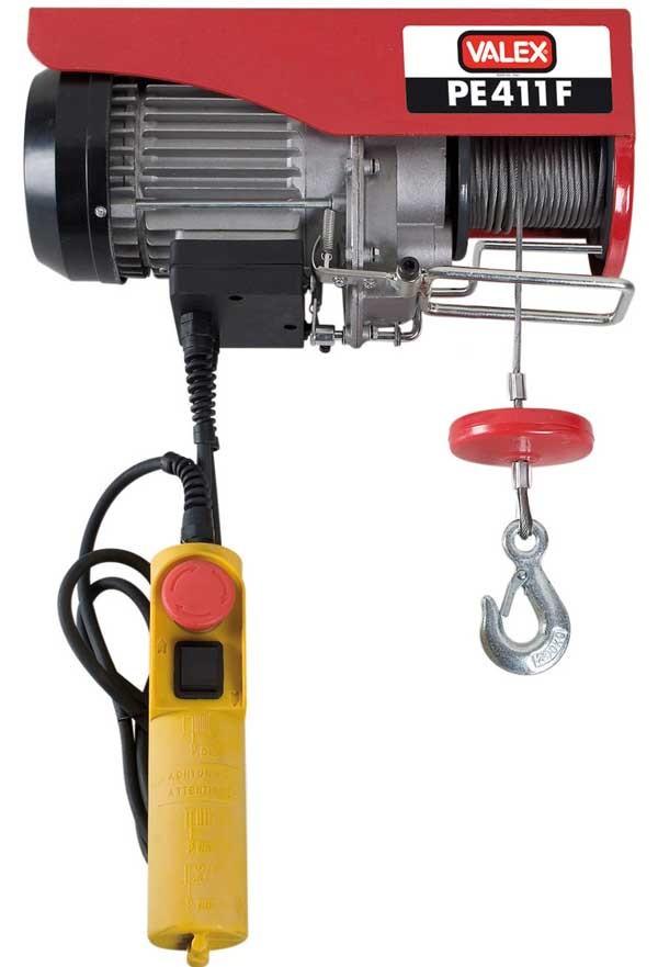 Paranco elettrico 400 kg pe412g 1655157 1655201 valex for Paranco elettrico 1000 kg