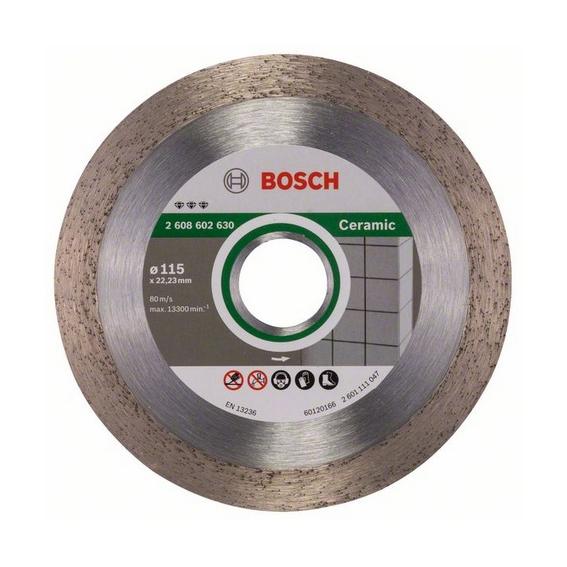 Disco diamantato continuo per taglio ceramica e gres 115 - Disco taglio piastrelle ...