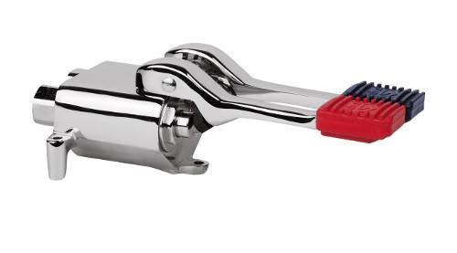 Rubinetto miscelatore a 2 pedali acqua calda e acqua fredda bes 1230