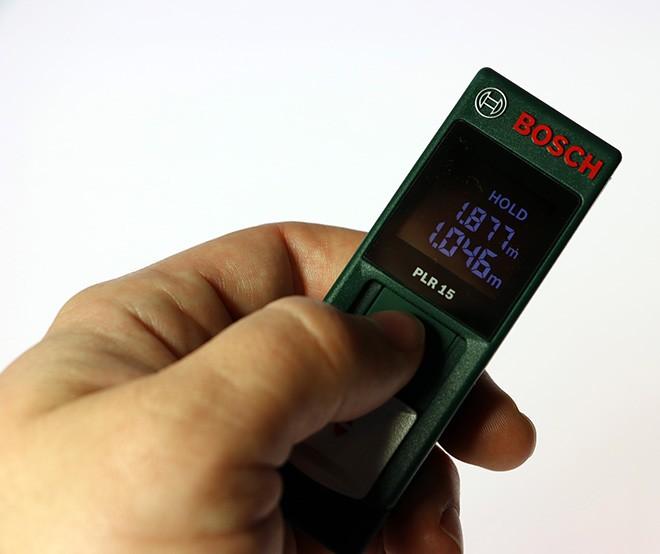 Misuratore laser 15 metri PLR 15 0603672001 BOSCH  misuratori e livelle laser  Strumenti di ...