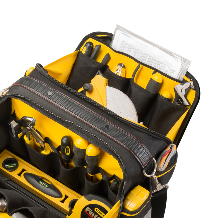Borsa attrezzi 17 multi access fatmax fmst1 73607 stanley - Cassetta porta attrezzi stanley con ruote ...