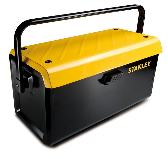 Cassetta porta attrezzi in metallo 19 con vaschetta stst1 - Cassetta porta attrezzi stanley con ruote ...