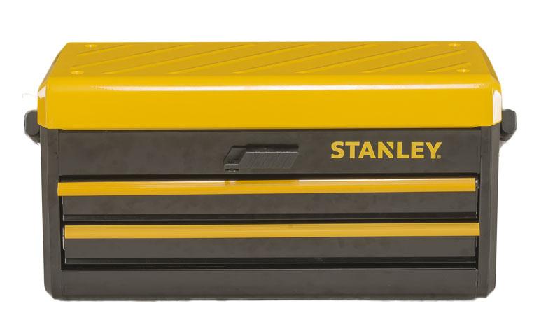 Cassetta porta attrezzi in metallo 19 con 2 cassetti - Cassetta porta attrezzi stanley con ruote ...