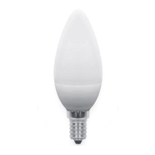 Lampadina led candela oliva 6 watt e14 luce fredda 1155512 for Lampadine a led e14