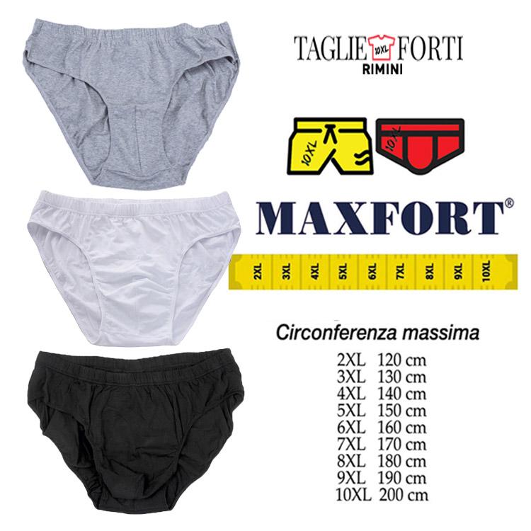 Maxfort slip plus size man 300 gray  3ae083a312a