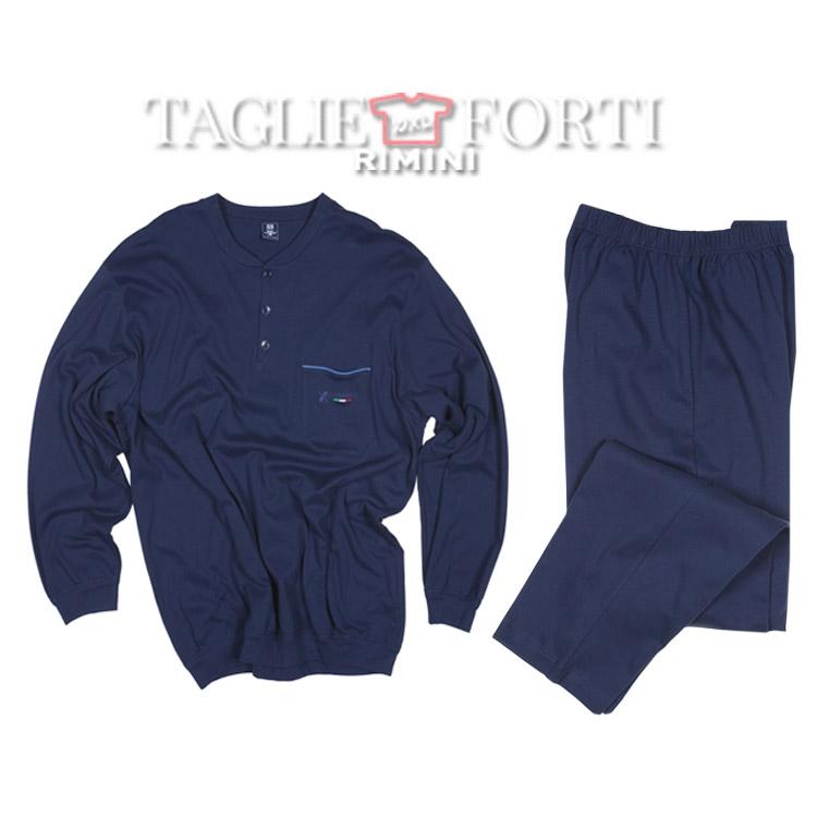 rivenditore all'ingrosso de378 e5265 Maxfort pigiama taglie forti uomo 2007 blu