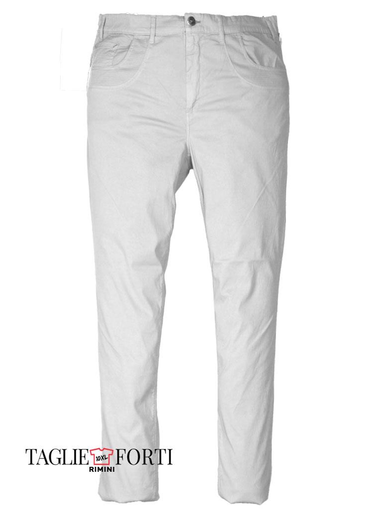 7a2317a0c77f Maxfort pantalone taglie forti uomo articolo gregorio bianco ...