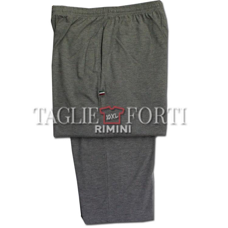 4acfd9852d55 Maxfort pantalone tuta taglie forti uomo praga grigio   Taglie Forti ...