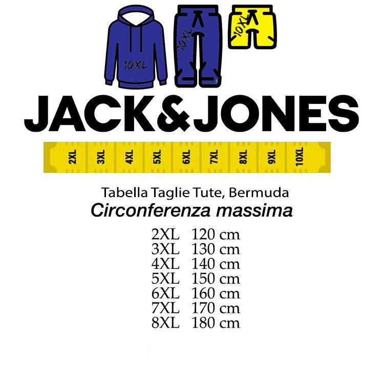new styles 1200e 3bb82 Jack & Jones pant sweatshirt outsize article 12142719 blue