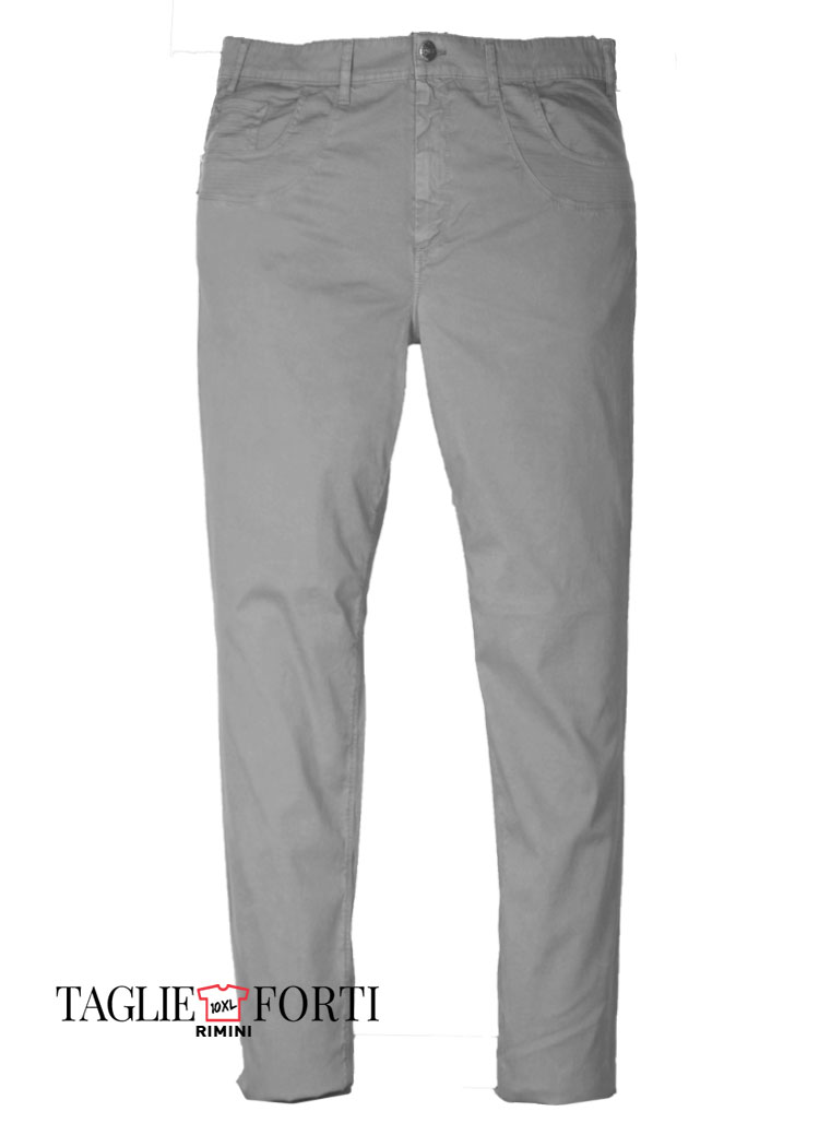 4d6ca4acc439 Maxfort pantalone taglie forti uomo articolo bramante ghiaccio ...