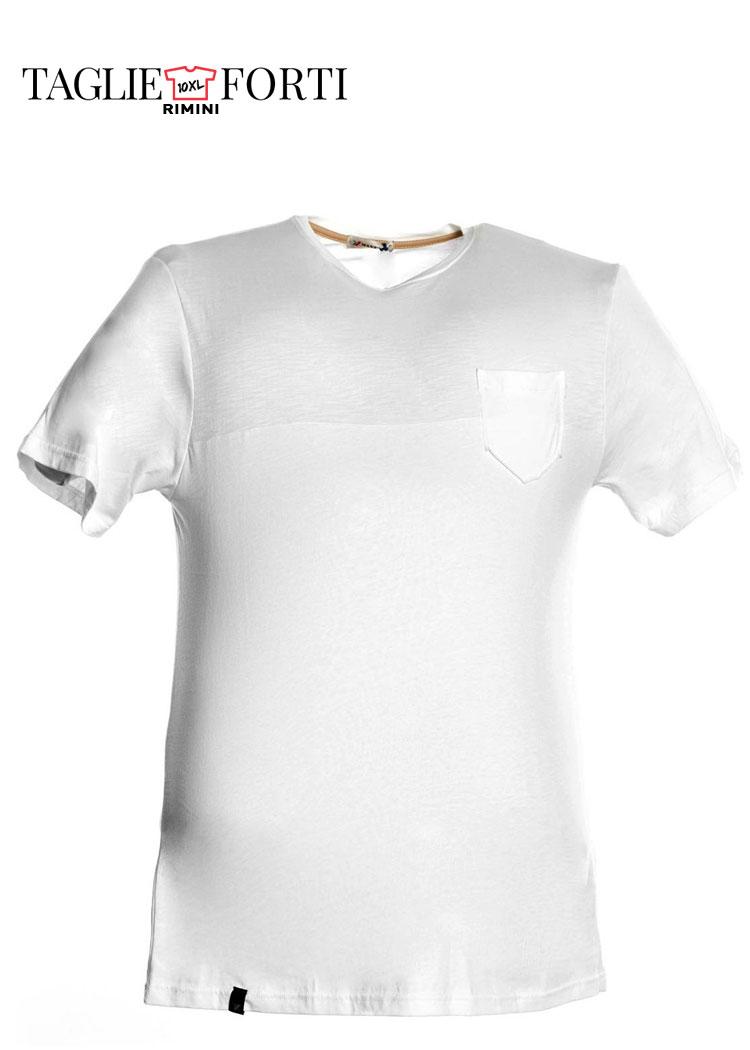b6022dbf31c09 Maxfort. T-shirt men s plus size article 29113 white