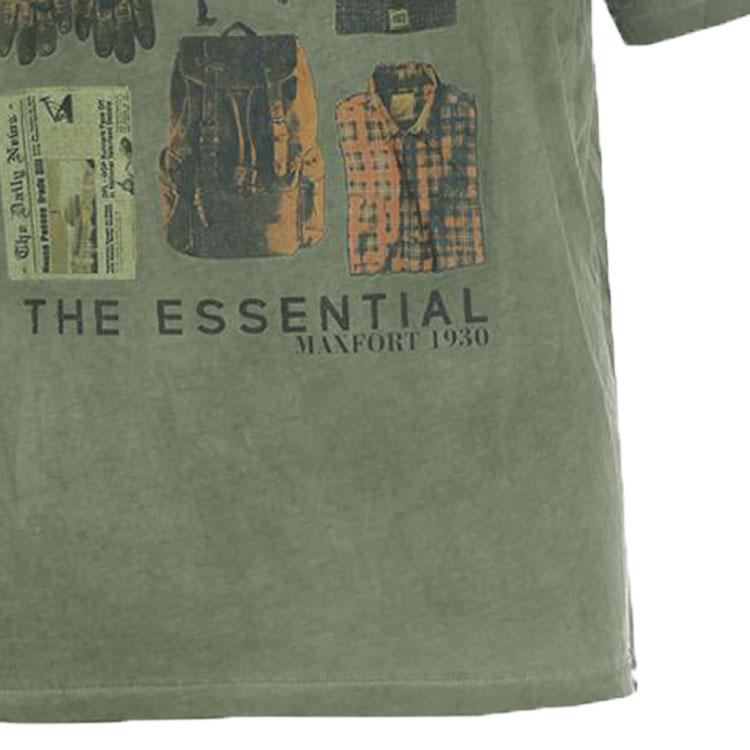 b79ffc940b72f Maxfort. T-shirt men s plus size article 29717 green