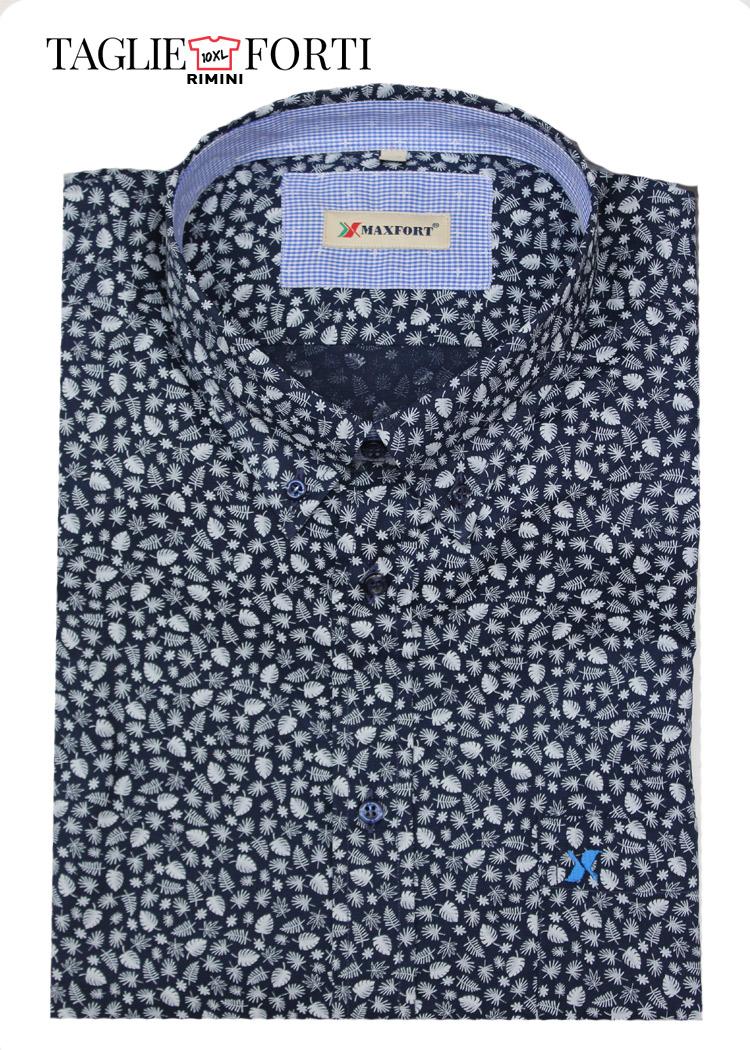 6a7c477d320 Camicia Maxfort taglie forti uomo articolo olbia blu