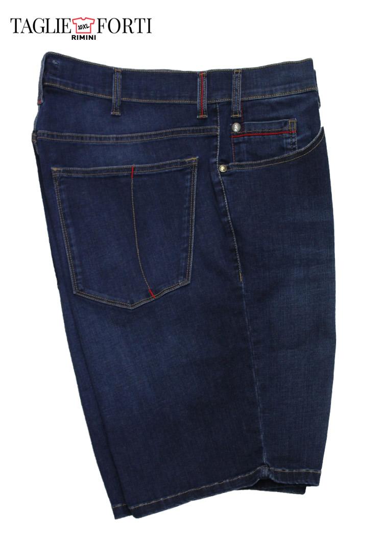 3903bcc20761 Maxfort bermuda jeans taglie forti uomo articolo aringa