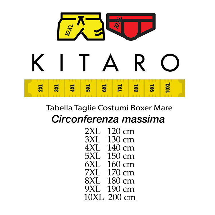 2e8f36b80a Kitaro Boxer swim shorts sea plus size man 191401 pink | Taglie ...