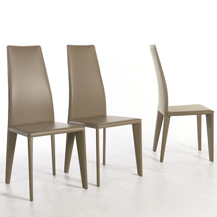 Sedie cuoio vendita online sedie cuoio su idealsedia for Sedie vendita online