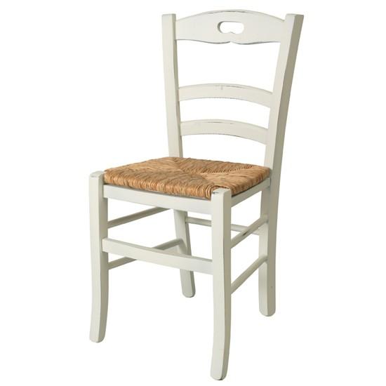 seduta di ricambio in paglia per sedia legno venezia | ideal sedia