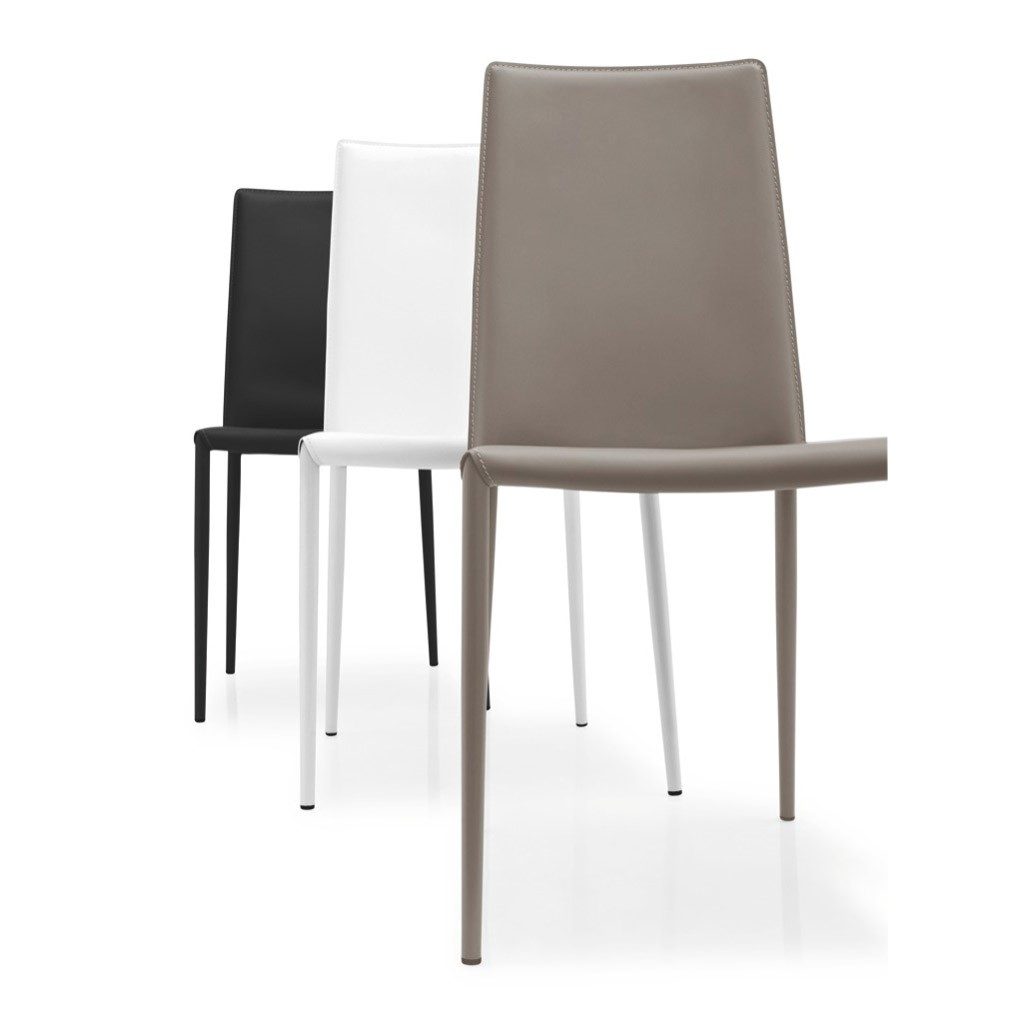 Sedia boheme calligaris in cuoio rigenerato disponibile in for Calligaris connubia