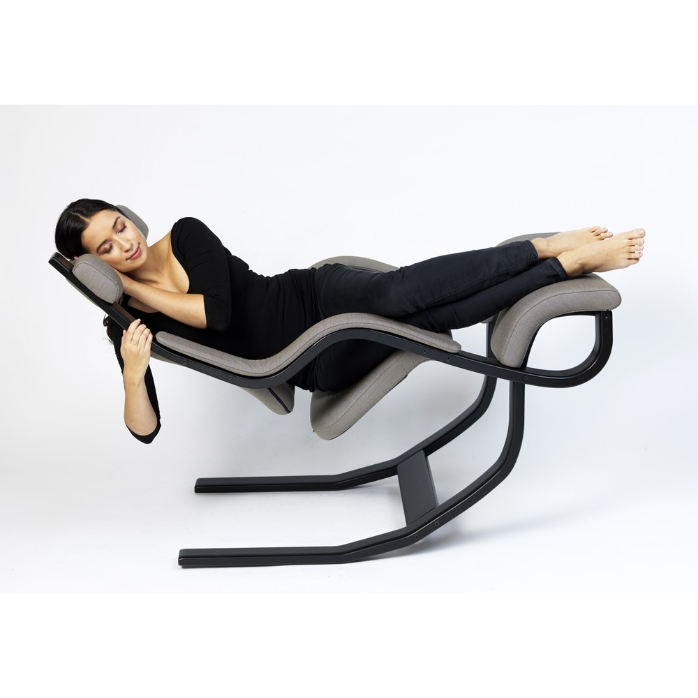 Gravity poltrona relax ergonomica varier ex stokke ideal for Sedia ergonomica