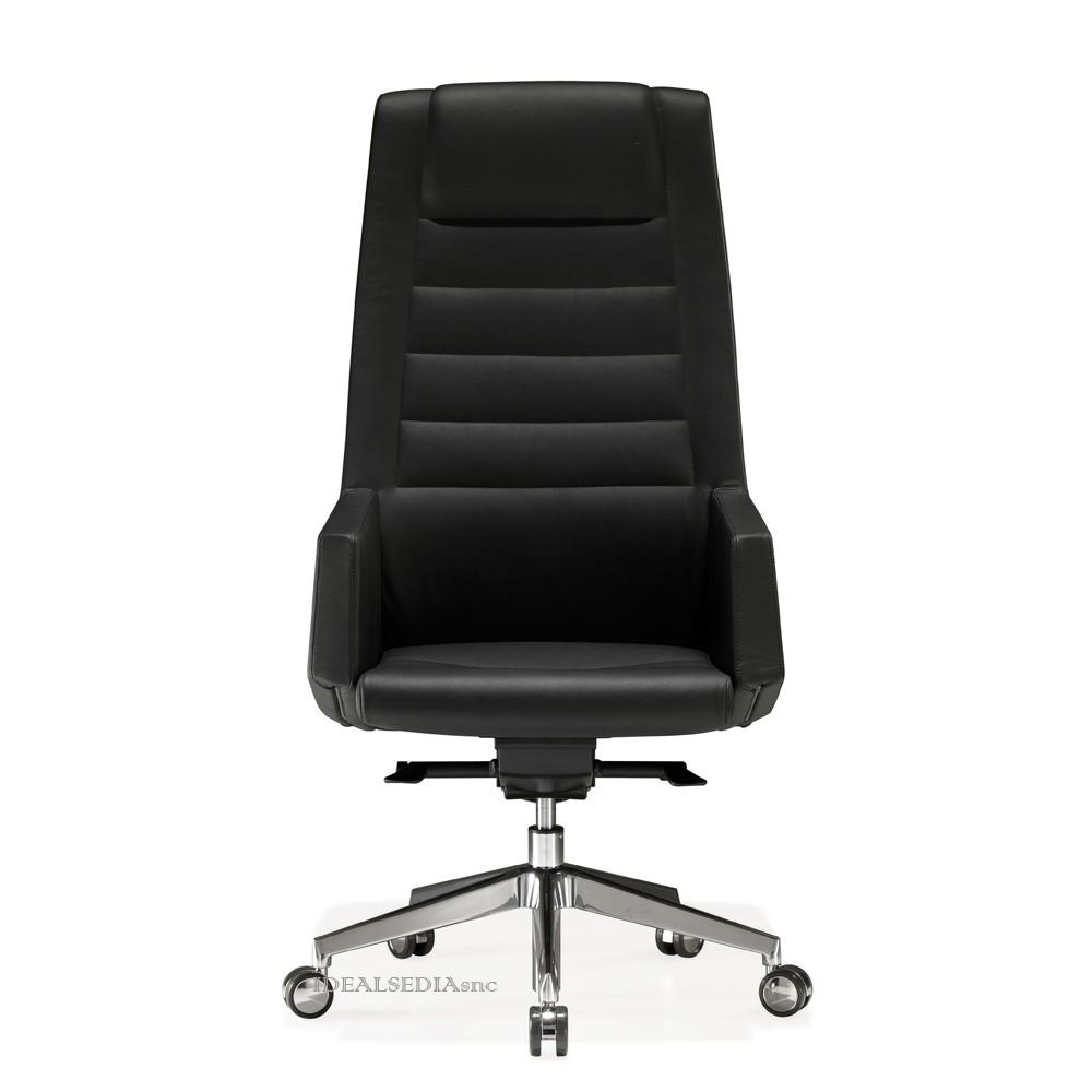 Poltrona ufficio kamelia alta kastel ideal sedia for Sedia ufficio lecce