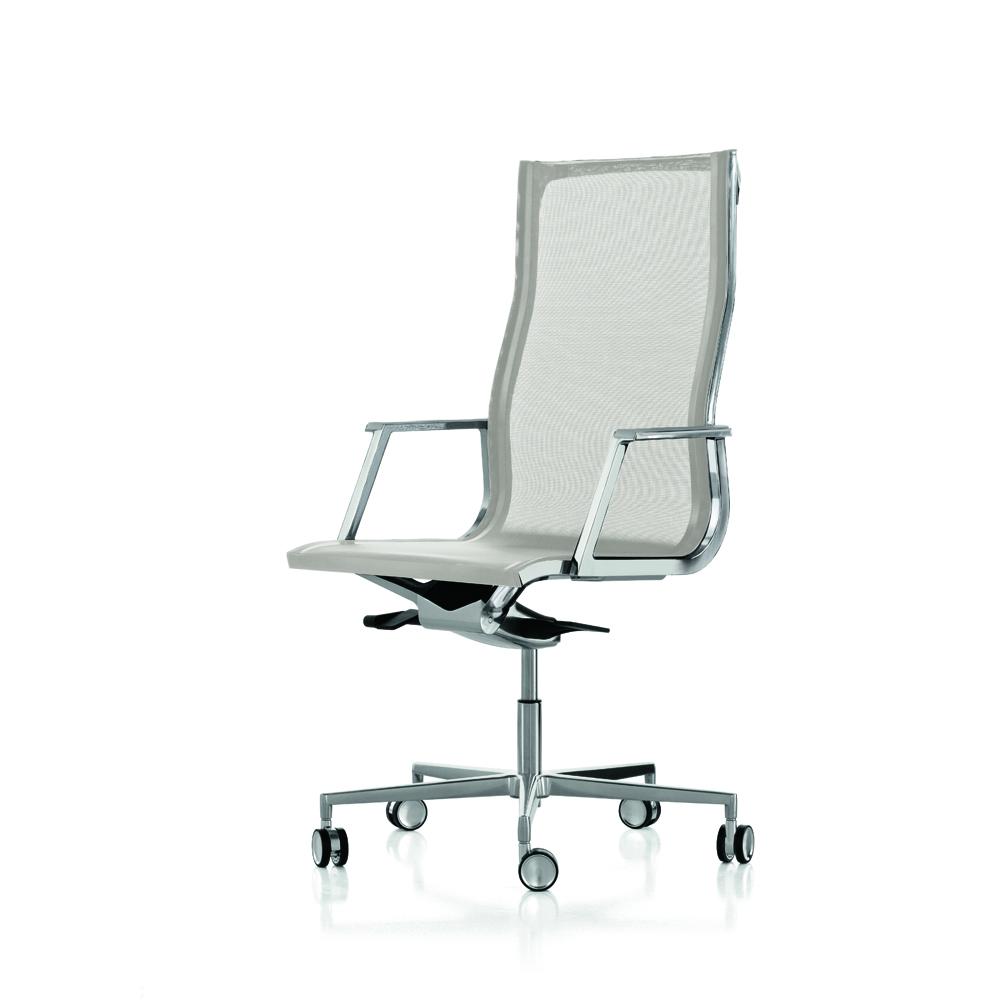 Poltrona direzionale rete modello nulite luxy ideal sedia for Sedia ufficio lecce