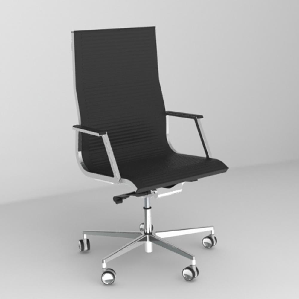 Luxy Poltrone Ufficio.Nulite Righe Oscillante Multiblok