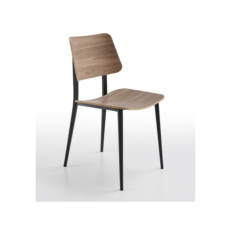 Sedie Legno E Ferro.Sedia Joe Midy Ferro E Legno Di Frassino Design Italiano Ideal Sedia