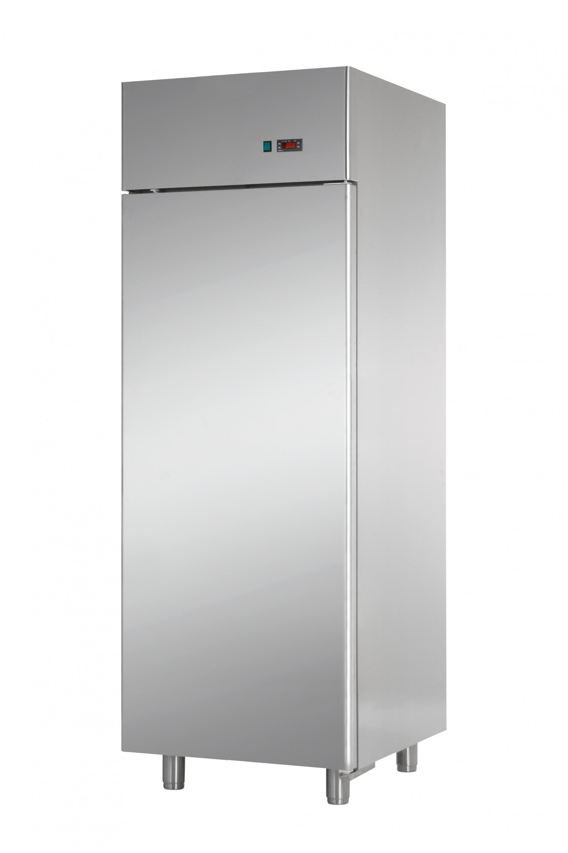 Armadio frigo inox per ristorante pizzeria macelleria for Frigo arredo