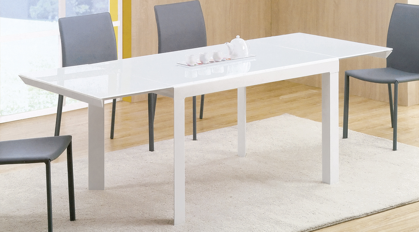 INTERIOR TABLES | TAVOLO ALLUNGABILE CON PIANO IN CRISTALLO | Centro ...
