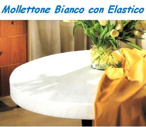 Vendita mollettone copritavolo hotel con elastico diametro - Mollettone per tavolo ...