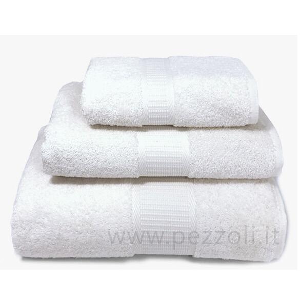 Vendita SOFT Set Asciugamani 1+1 spugna di puro cotone ring 500gr/mq ...