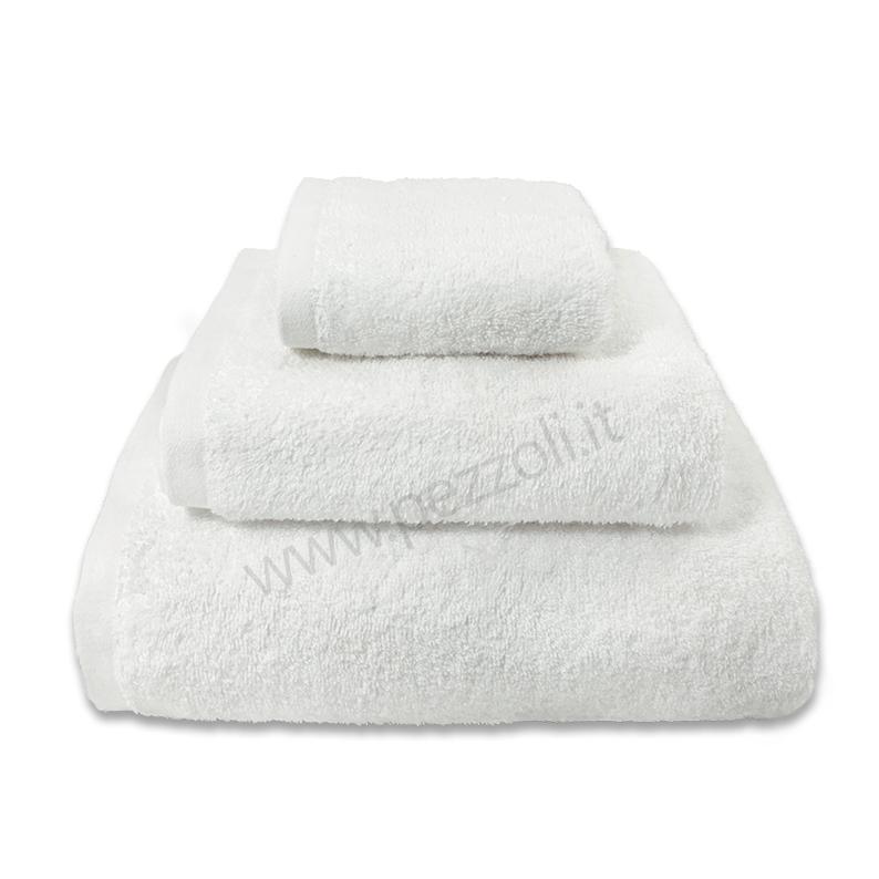 bianco 2 teli Bagno 100 x 180 cm 100/% cotone 100 x 180 cm 500 g//m/² puro cotone egiziano bianco Hotel