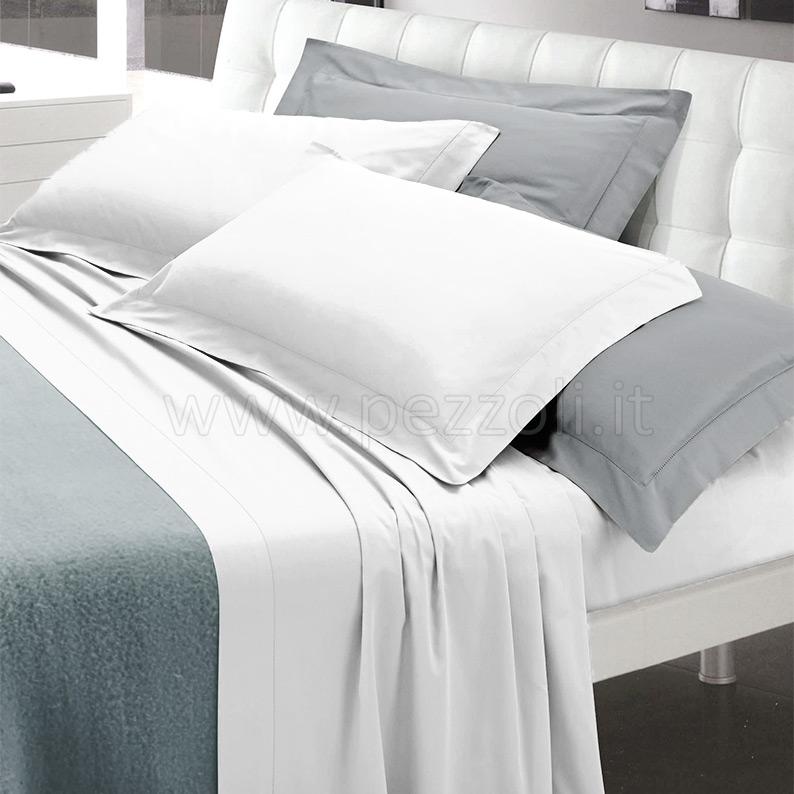 Vendita modern completo letto 1p 100 raso di puro cotone bianco vendita online modern - Amici di letto completo ...