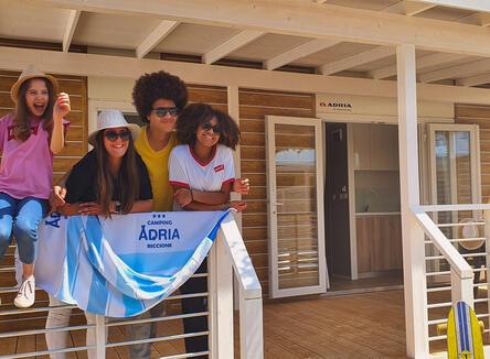 Vacanze di agosto in casa mobile per famiglie a Riccione