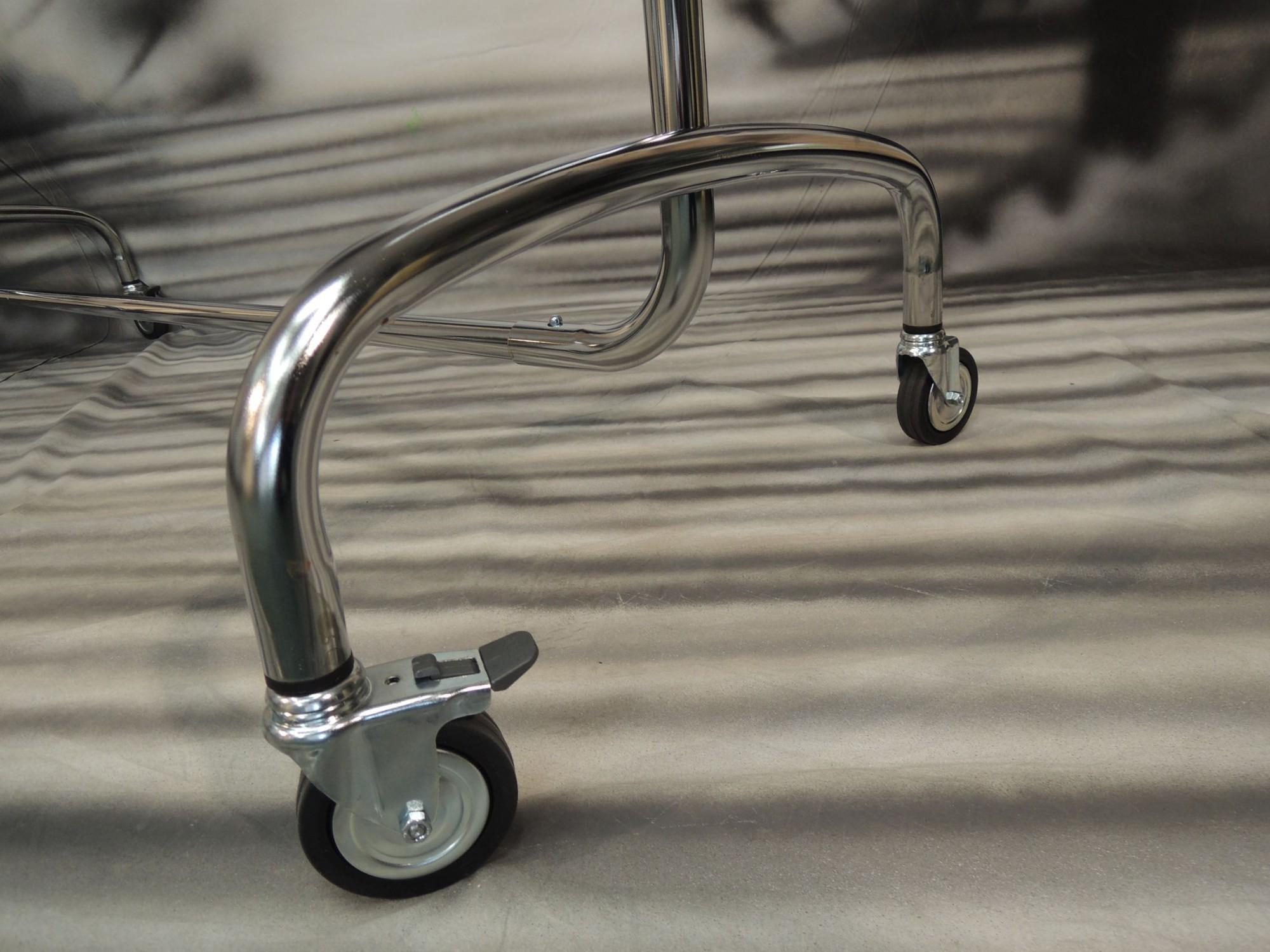 Stender porta abiti cromato g02000crgf stender stender - Porta abiti con ruote ...