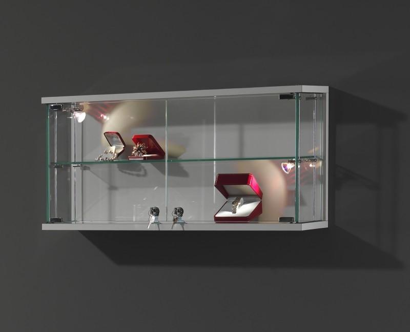 Vetrine a colonna e teca grande vetrine serie for Vetrine in cristallo arredamento