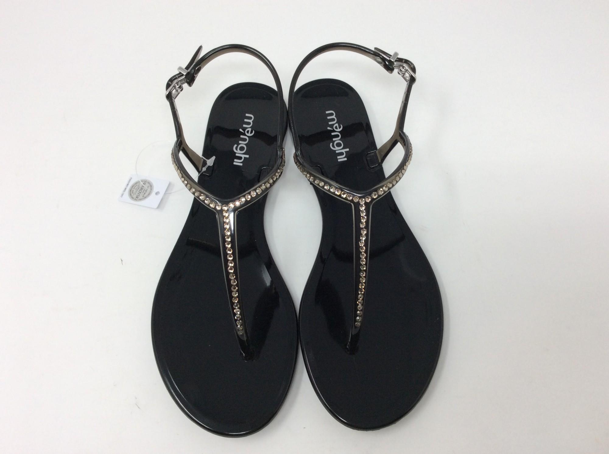Chaussures Menghi 817swonline 7vfgyyb6 Vente Noir Art Sandale thrdsQ