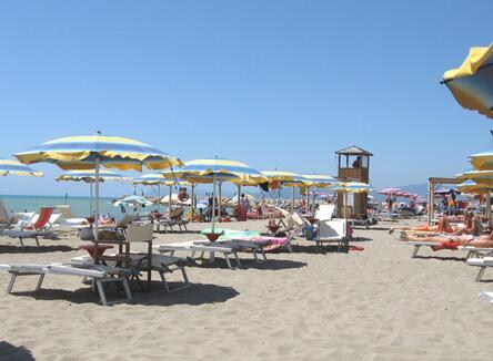 Buchen Sie die Campingplätze im Juli in Marina di Grosseto