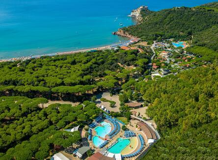 June and July  open air  holiday  in Castiglione della Pescaia