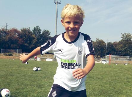 Kleine Fussballstars - Borussia M?nchengladbach Camp