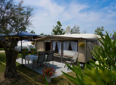 Vacanze in piazzola a Bibione in camping village sul mare. Speciale weekend!
