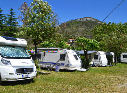 Place for camper/big tent + 2 persons