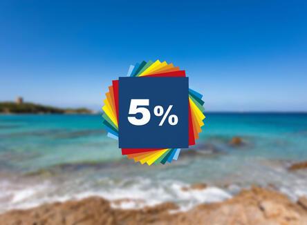 PRENOTA PRIMA -5%