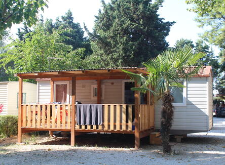 -30% Early booking offer in mobilhome at campsite in Marche