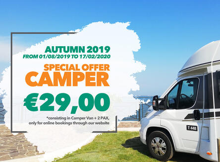 HERBST 2019 - SPECIAL CAMPER IN VENEDIG AB 29,00 € PRO NACHT