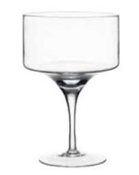 Alzatina in vetro   Fior di Loto Riccione