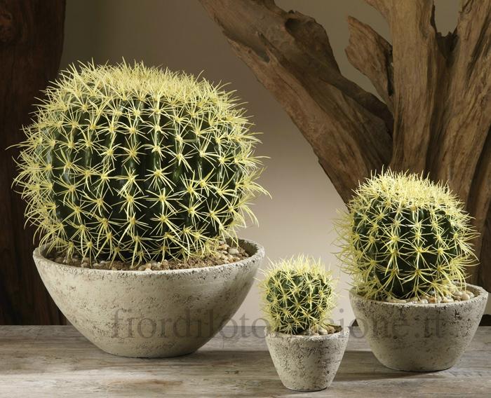 Cactus artificiale scegli la misura fiori e piante for Piante artificiali