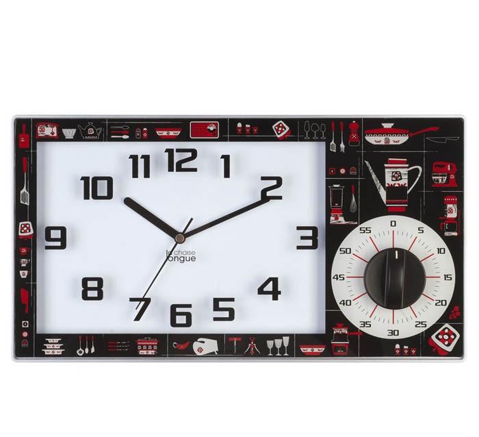 Orologio da cucina con timer | Pretty presents | Oggettistica | Fior ...